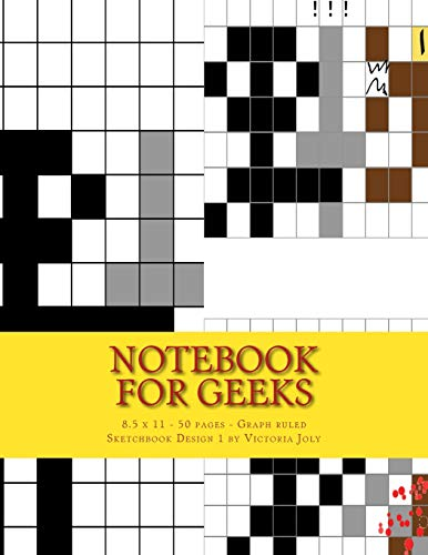 9781533094483: Notebook for Geeks - 8.5 x 11 - 50 pages - Graph ruled: Sketchbook Design 1
