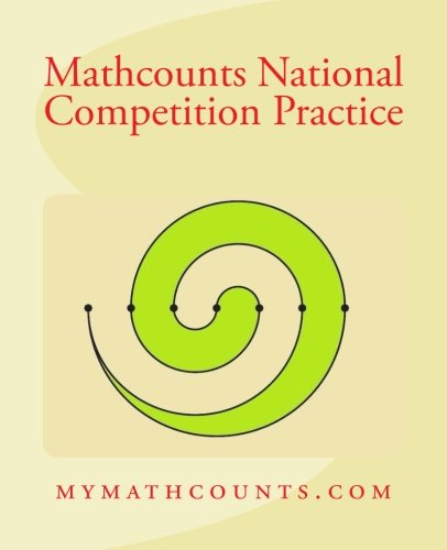 Mathcounts National Competition Practice: Chen, Yongcheng