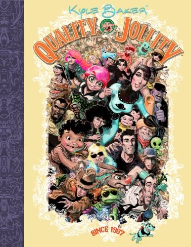 9781533154002: Quality Jollity : Since 1987: Thirty Years Of Kyle Baker art, now available for license