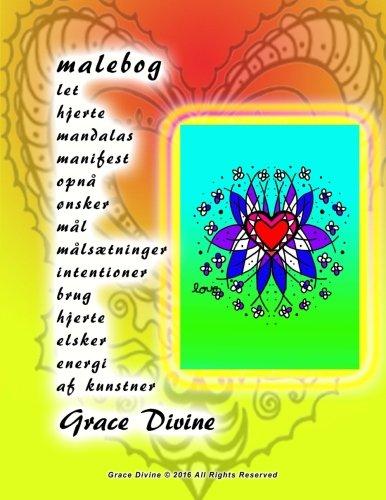 Malebog Let Hjerte Mandalas Manifest Opna Onsker