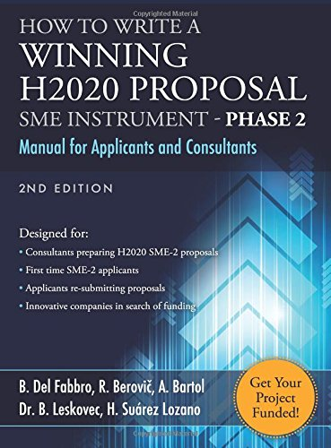 9781533188113: How to Write a Winning H2020 Proposal - SME Instrument Phase 2: Manual for Applicants and Consultants