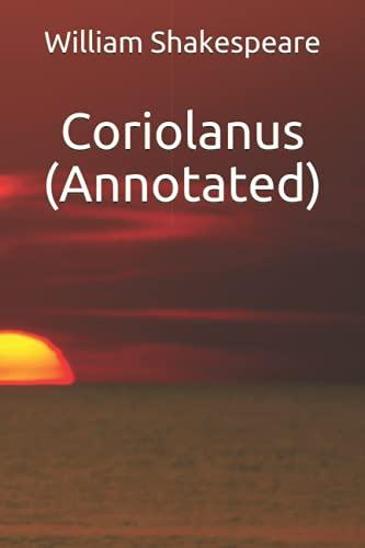 9781533198563: Coriolanus