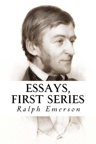 Essays first series by emerson ralph waldo abebooks