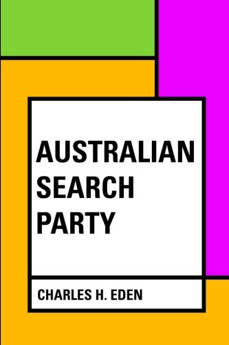9781533228239: Australian Search Party