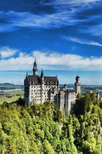 9781533248978: Top 50 Man Made Wonders Neuschwanstein Castle In Bavaria 150 Page Lined Journal: 150 Page Lined Journal