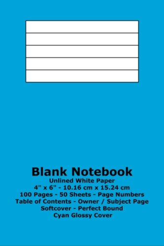 9781533293473: Blank Notebook: Unlined White Paper - 4