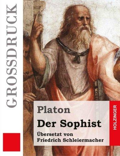 9781533343093: Der Sophist (Großdruck) (German Edition)