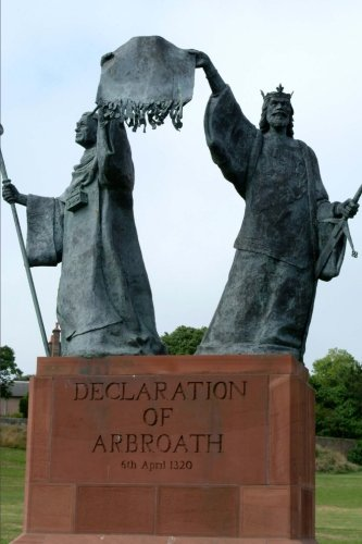 9781533350237: Statue of Declaration of Arbroath 1320 Scotland Journal: 150 page lined notebook/diary