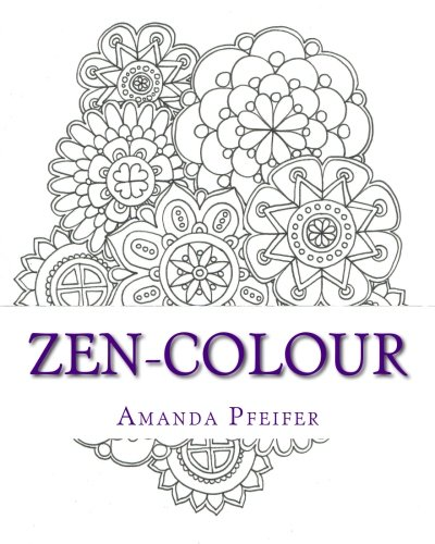 9781533378569: ZenColour: Colouring Book For Adults