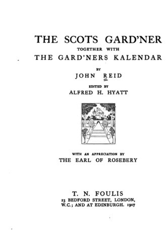 9781533388681: The Scots Gard'ner Together with The Gard'ners Kalendar