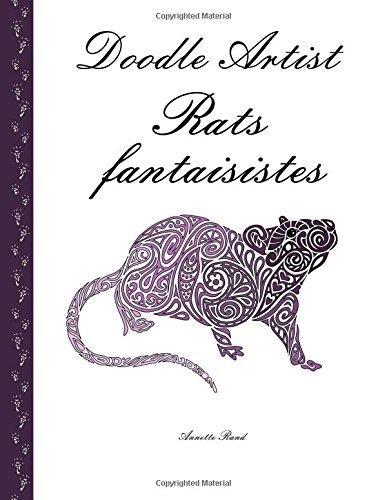 9781533390110: Doodle Artist - Rats fantaisistes: Livre de coloriage pour adultes