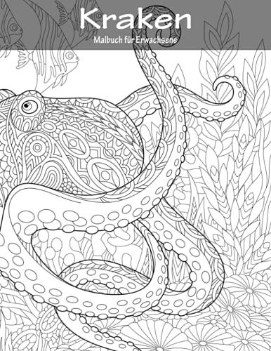 9781533418616: Krakenmalbuch für Erwachsene 1 (Volume 1) (German Edition)