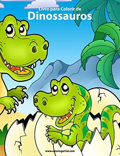 Livro Para Colorir de Dinossauros 1: Snels, Nick