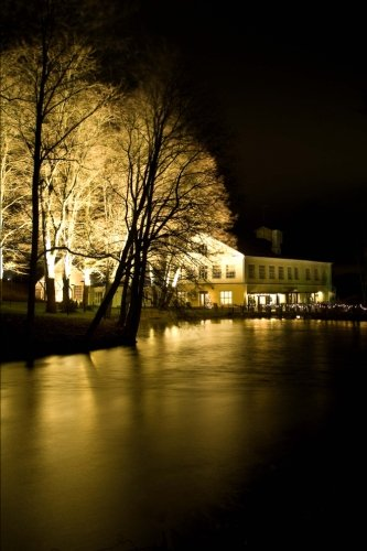 9781533486172: Fiskars Village at Night in Finland Journal: 150 page lined notebook/diary