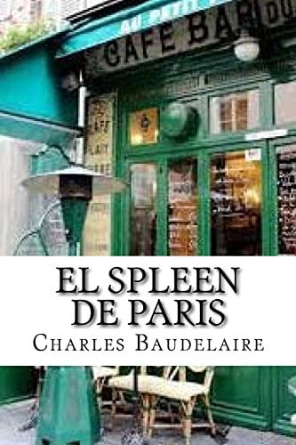 9781533501011: El spleen de Paris (Spanish Edition)