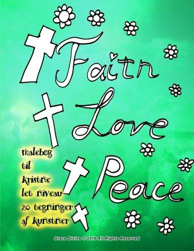 Malebog Til Kristne Let Niveau 20 Tegninger: Grace Divine
