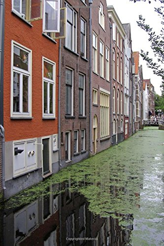 Amsterdam Canal Houses in Holland/Netherlands Journal: 150 page lined notebook/diary: Cool Image