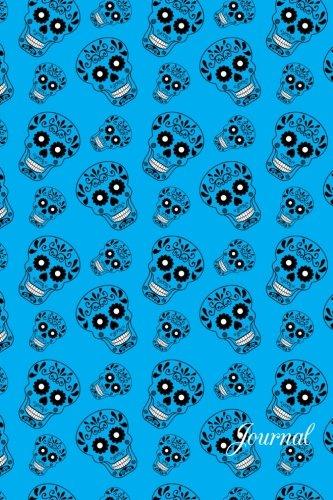 9781533588951: Journal: Sky blue sugar skulls notebook