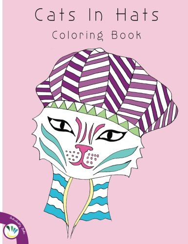 9781533596949: Cats In Hats Coloring Book