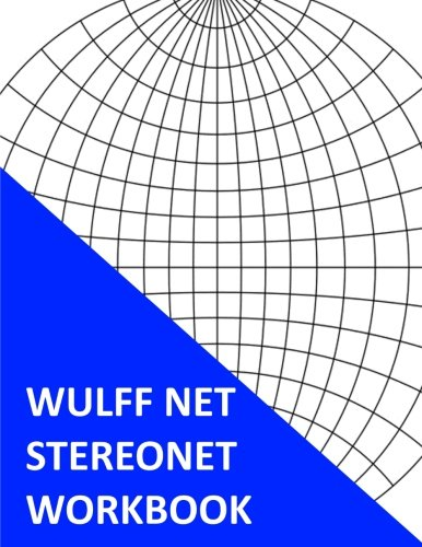 9781533601834: Wulff Net Stereonet Workbook: Jumbo Edition