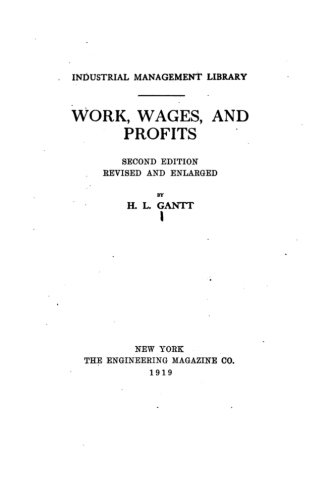 9781533619709: Work, Wages, and Profits