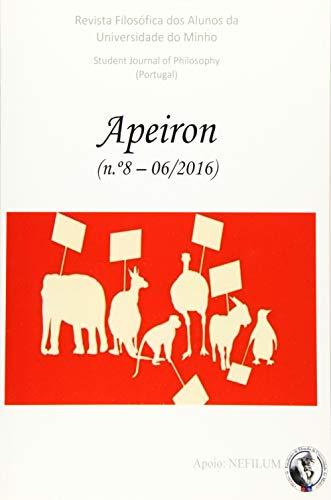 Apeiron - Revista Filosofica DOS Alunos Da: Steven S Gouveia