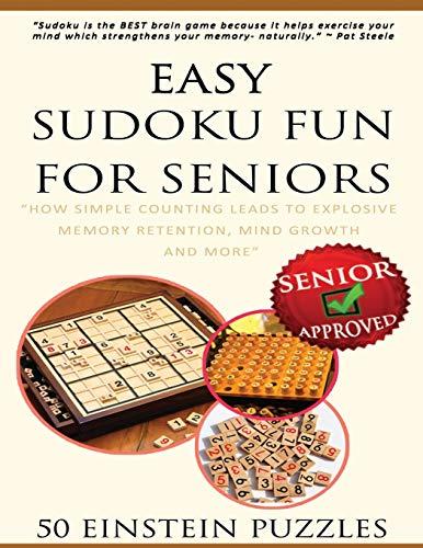 9781533683823: Easy Sudoku Fun For Seniors (EINSTEIN LEVEL) (Volume 3)