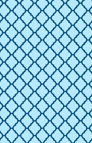 9781533685933: My Dot Journal: Blue on Blue Print Soft Cover, 5.5 x 8.5 inch: a beginners creative bullet journal