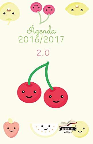 9781533692481: Agenda 2016 2017: interior blanco y negro (Frutas) (Volume 1) (Spanish Edition)