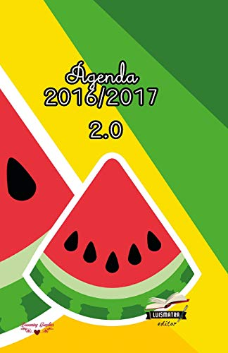 9781533692597: Agenda 2016 2017: interior a color (Frutas) (Volume 2) (Spanish Edition)