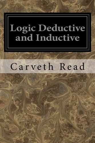 9781534630178: Logic Deductive and Inductive