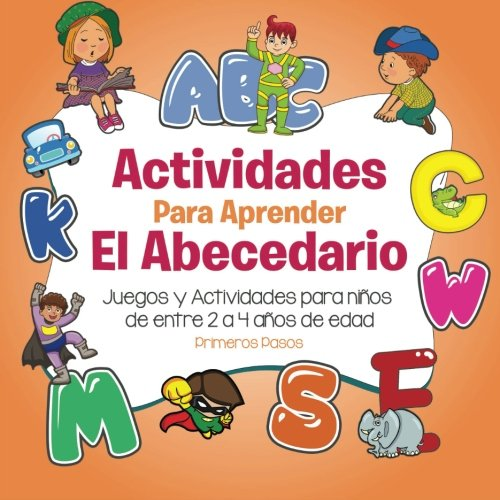 9781534636927 actividades para aprender el abecedario juegos y