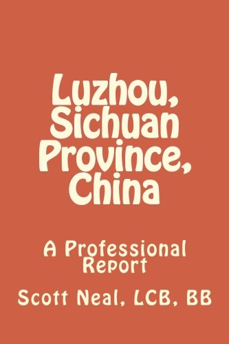 9781534693715: Luzhou, Sichuan Province, China: A Professional Report