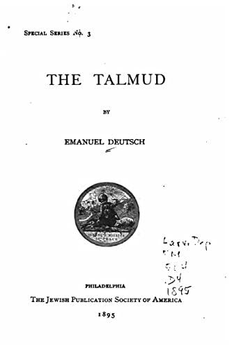 9781534709096: The Talmud