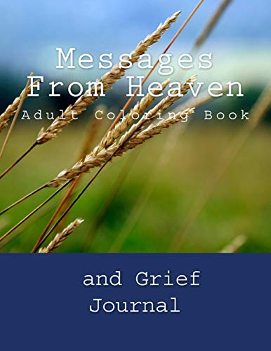 9781534715721: Messages From Heaven: Adult Coloring Book and Grief Journal