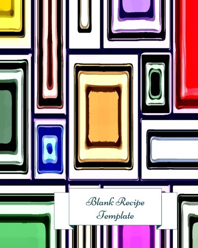 9781534730649 Blank Recipe Template Journal Notebook Keeper Organizer To Write In