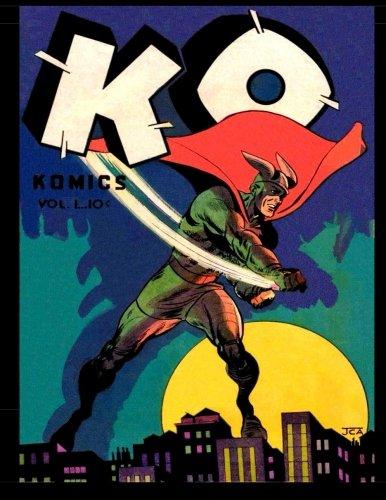 9781534744462: KO Komics #1: Golden Age Superhero Comic 1945