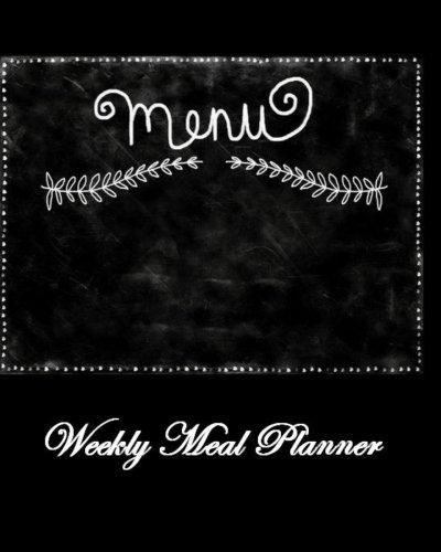 9781534763388: Menu: Weekly Meal Planner