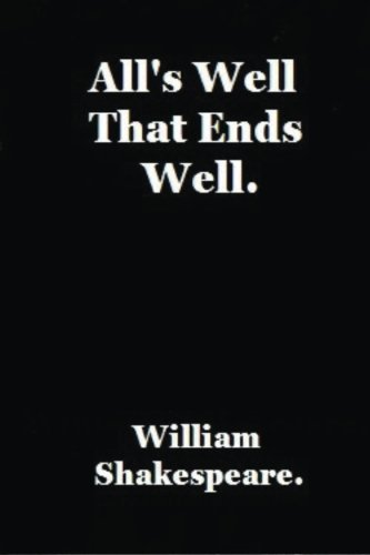 9781534767119: All's Well That Ends Well by William Shakespeare.