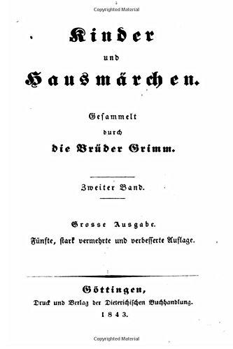 9781534781252: Kinder und Hausmärchen (German Edition)