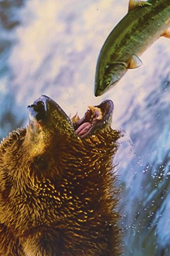 9781534794719: Grizzly Bear Hunting for Salmon in Alaska Journal: 150 page lined notebook/diary