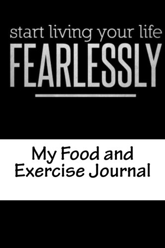 9781534799721 my food and exercise journal workout log diary with