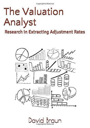 9781534810792: The Valuation Analyst: Research in Extracting Adjustment Rates: Volume 1