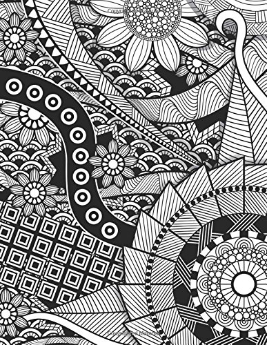 9781534816213: Daily Planner Journal: Zentangle Floral 365 + Days Bullet Journaling Blank Notebook with sections for date, time, notes, lists & doodles! 8.5 x 11 size, 380 pages!