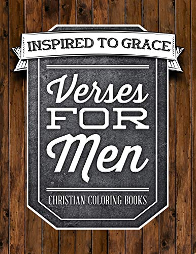 9781534827974 Verses For Men Inspired To Grace Christian Coloring