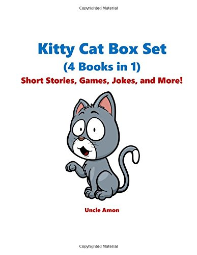 9781534829589: Kitty Cat Book 4 in 1t: Fluffy the Kitten, Kiko the Cat, Ziggy, and Lucky Lucy: [4 Books in 1] 20 Short Stories, Games, Jokes, and More! (Fun Time Reader)