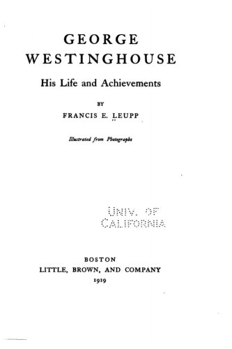 9781534830189: George Westinghouse - His Life and Achievements