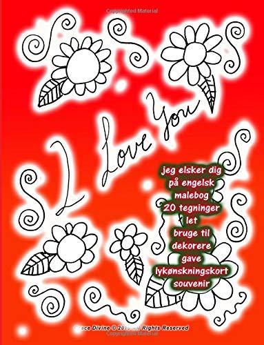 Jeg Elsker Dig Pa Engelsk Malebog 20: Grace Divine