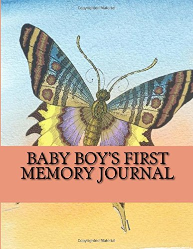 9781534872868: Baby Boy's First Memory Journal