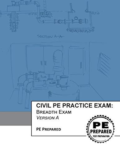 9781534889347: Civil PE Practice Exam: Breadth Exam Version A